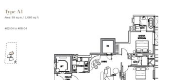 3 Orchard By The Park Floor Plan 6928 4692 Singapore